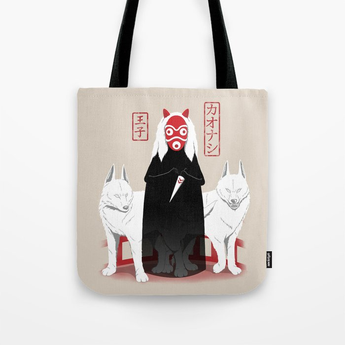 Ouji Kaonashi Tote Bag