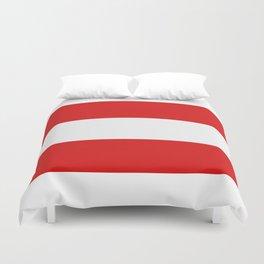 flag of austria Duvet Cover