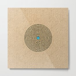 Maze of life Metal Print