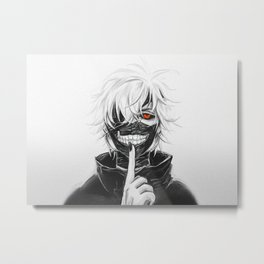 Ken Kaneki Metal Print