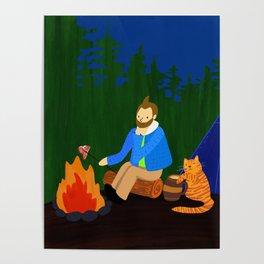 adventures of cat boy Poster