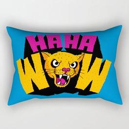 HAHA WOW COUGAR Rectangular Pillow