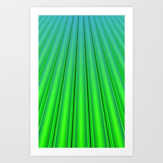 Fuel Rods Art Print