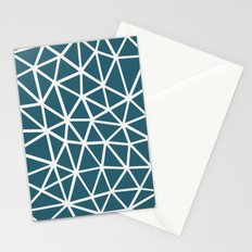 Segment Blue Stationery Cards