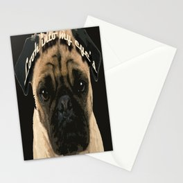 Pug is your passion and love.  Stationery Cards