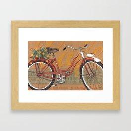 Schwinn Meteor Framed Art Print