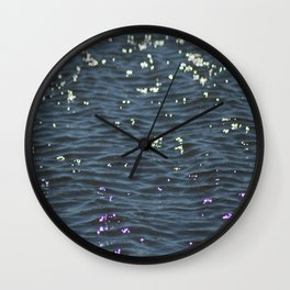 Marsh Waters Wall Clock