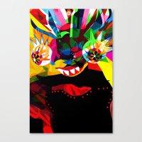 diablo Canvas Prints featuring diablo 2 by Alvaro Tapia Hidalgo