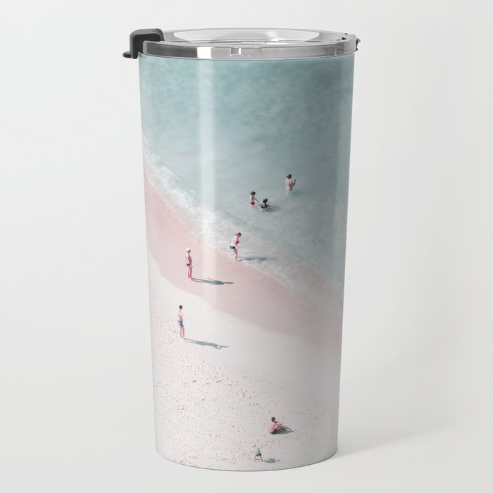 beach family love Travel Mug