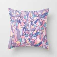 crystal heart ♥ Throw Pillow