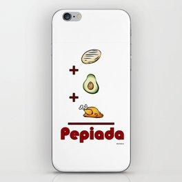 Pepiada iPhone Skin