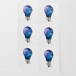 Miagical lamp. Wallpaper