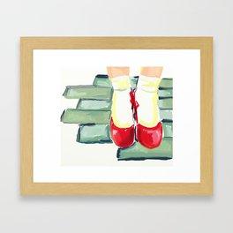 New Shoes Framed Art Print