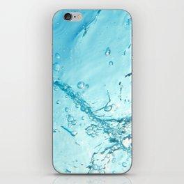 Bubble Trail Underwater Photo iPhone Skin