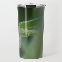 Snail on green #2 Travel Mug