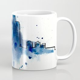 Going Downtown: Detroit Coffee Mug