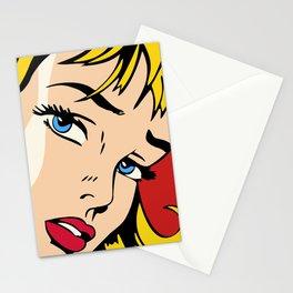 Ribbon Girl (1965) Stationery Cards