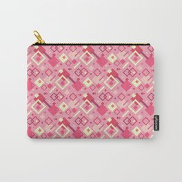 GEOMETRIC, PINKS Carry-All Pouch
