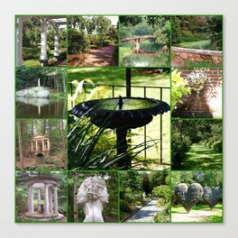 Tower Hill Botanical Garden Canvas Print