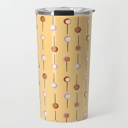Cake Pop Parade - Yellow Travel Mug