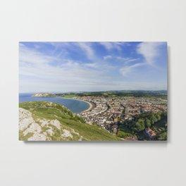 Llandudno - Great Orme Metal Print