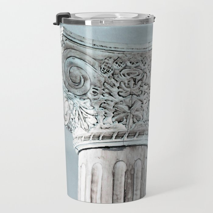 Corinthian capital Travel Mug