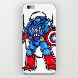 Cap'n Warhammer iPhone Skin