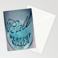 Mason Jar Stationery Cards