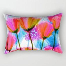 Spring Fever Floral Rectangular Pillow