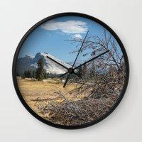 yosemite Wall Clocks featuring Yosemite by Adelaine Phee