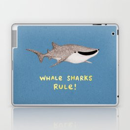 Whale Sharks Rule! Laptop & iPad Skin