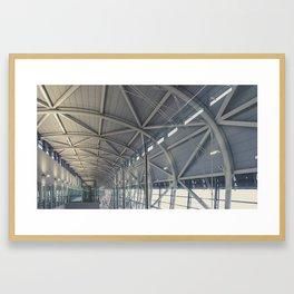 Up Around The Bend Framed Art Print