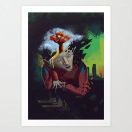 Distorted Dreams Art Print