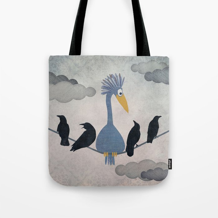 "For ""The Birds"" Tote Bag"