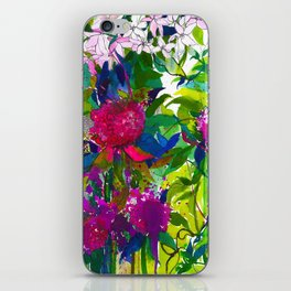 Summer Petals iPhone Skin