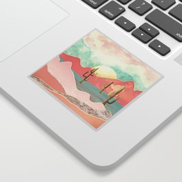 Desert Mountains Sticker