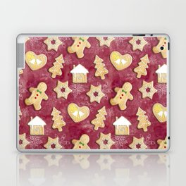Gingerbread Christmas Cookies Laptop & iPad Skin