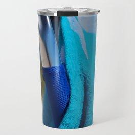 Beach Day- vertical Travel Mug