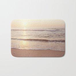 "Ocean Photography, Sea Beach Photograph, Waves Coastal Photo, ""A New Beginning"" Bath Mat"