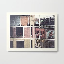 Rue Wellington de Sherbrooke Metal Print