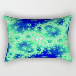 whats your name, microbe population? Rectangular Pillow