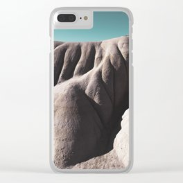 Flowing hills Clear iPhone Case