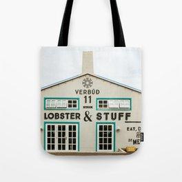 Seafood Market Tote Bag