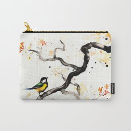 """The tiny wings """"The tit"""" Carry-All Pouch"""