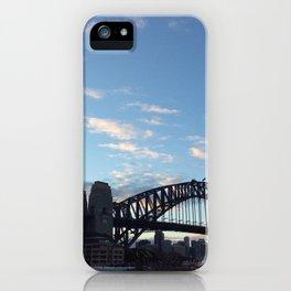 Sydney Australia harbour bridge iPhone Case