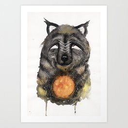 Copernicus the Sun Bear. Art Print
