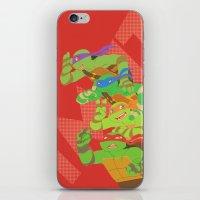 tmnt iPhone & iPod Skins featuring TMNT - Bros! by Taiyari