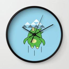 Kawaii Dragon Wall Clock