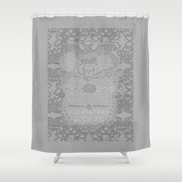 quija board II Shower Curtain