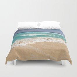 Beach Water Coastal Sand Duvet Cover